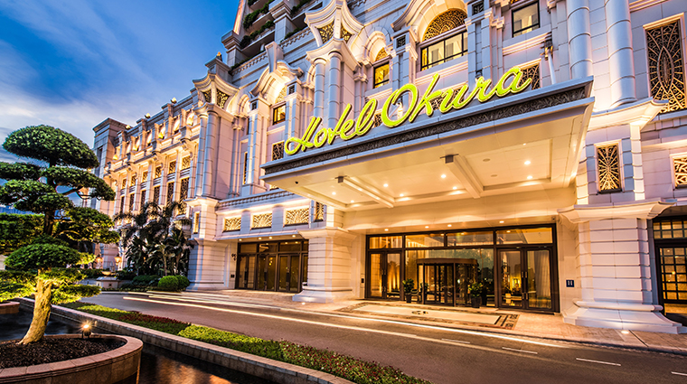 hotel okura macau entrance