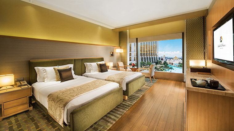 hotel okura macau new deluxe view twin