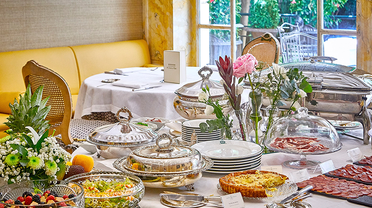 hotel orfila brunch table