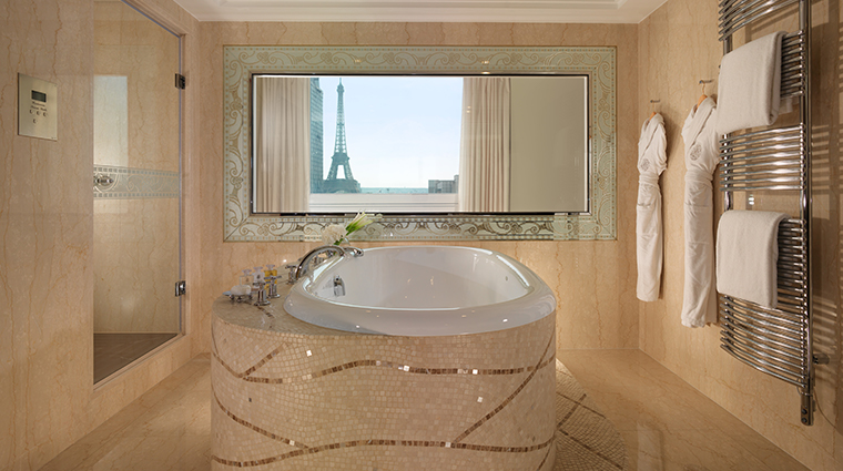 hotel plaza athenee eiffel signature suite bathroom