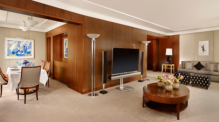 hotel president wilson a luxury collection hotel presidential suite living area