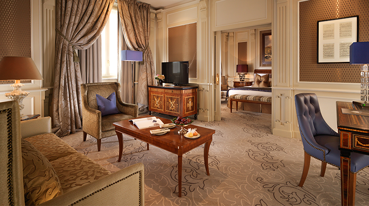 hotel principe di savoia dorchester collection ambassador suite