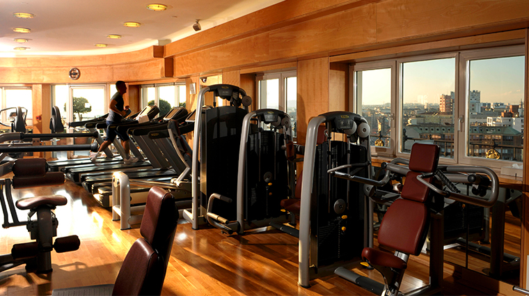 hotel principe di savoia dorchester collection high tech gym