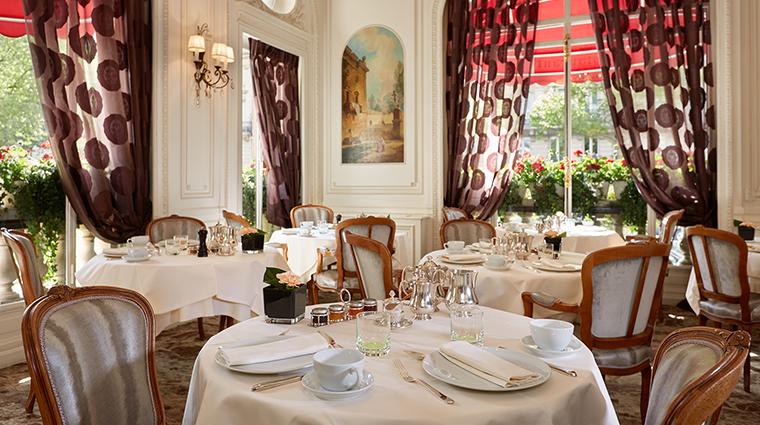Hotel Raphael breakfast