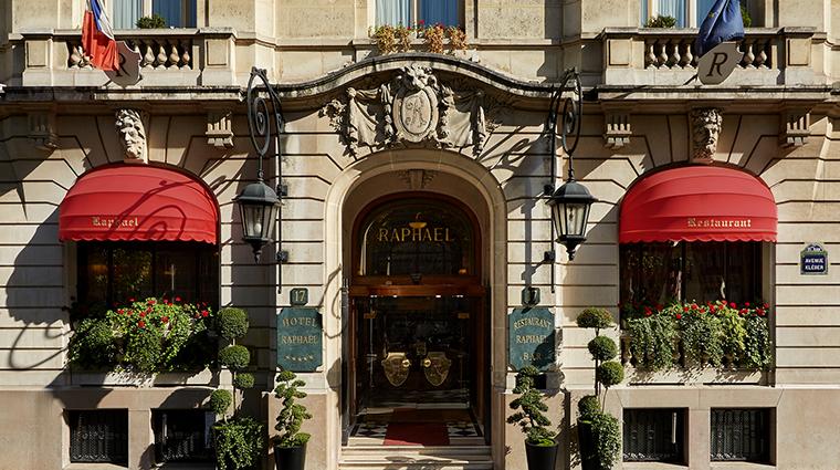 Hotel Raphael entrance