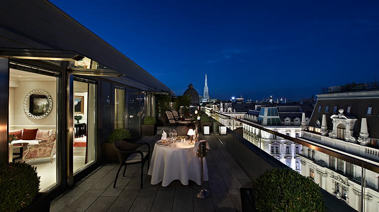 hotel sacher wien presidential suite terrace