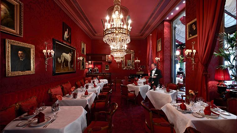 hotel sacher wien restaurant Rote Bar