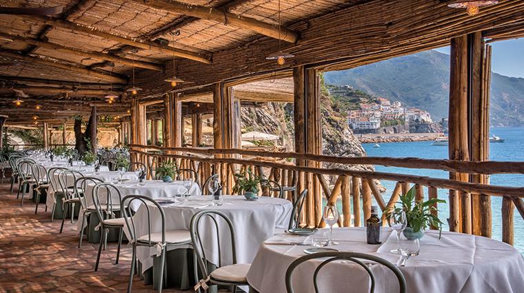 hotel santa caterina al mare restaurant