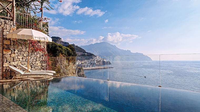 hotel santa caterina pool view