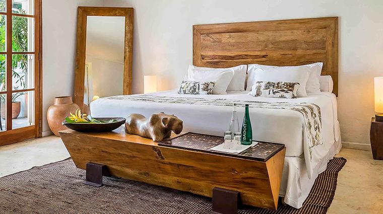 Hotel Santa Teresa bed