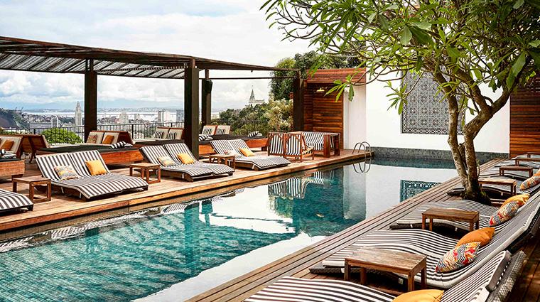 Hotel Santa Teresa pool view