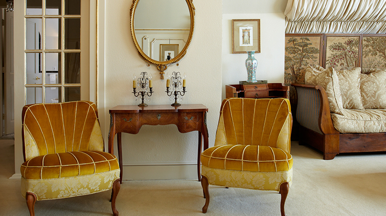 hotel st germain suite chairs