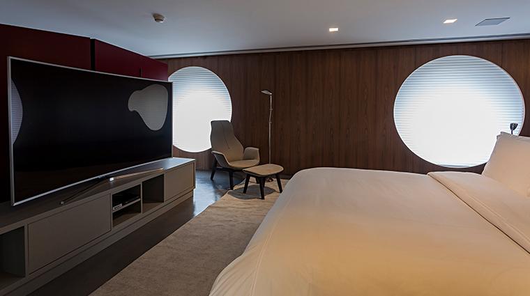 hotel unique bedroom