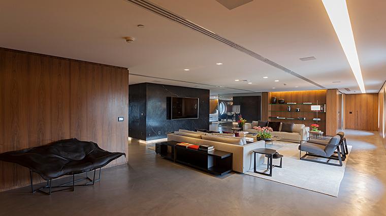 hotel unique living room