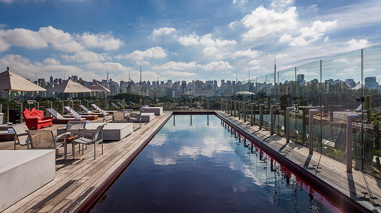 hotel unique pool daytime 3