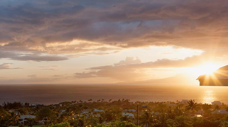 hotel wailea celebration suite sunset