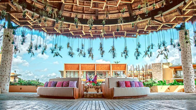 hotel xcaret mexico lobby