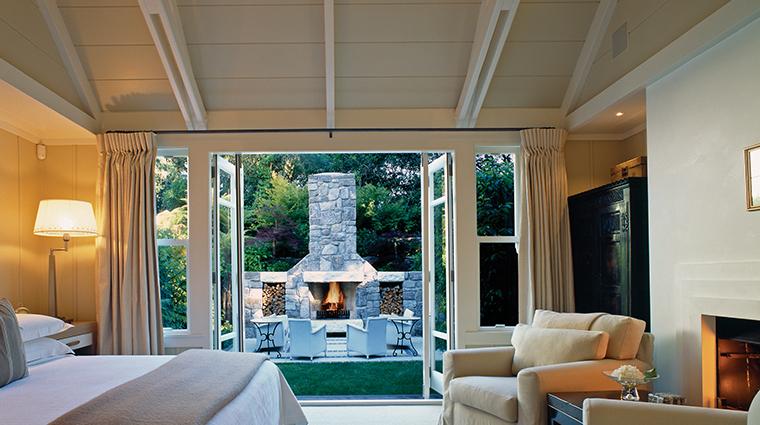 huka lodge suite garden view