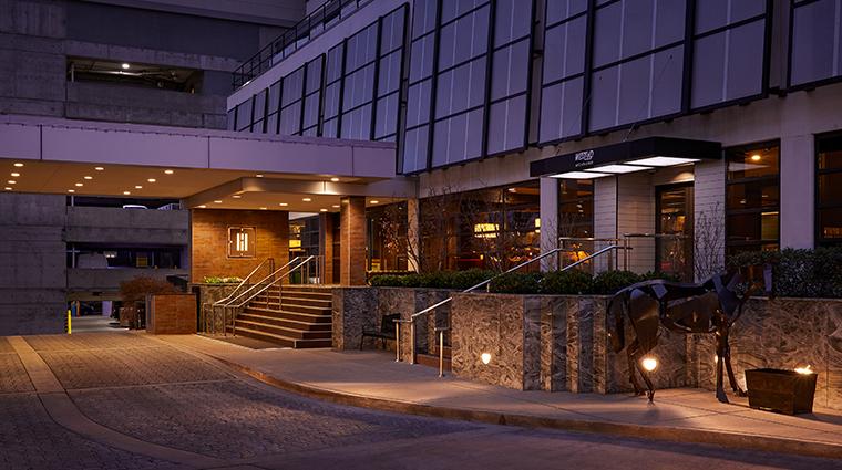hutton hotel exterior
