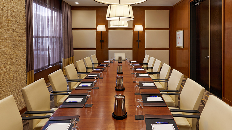 hutton hotel meeting space