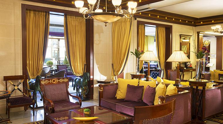 hotel napoleon paris lobby lounge