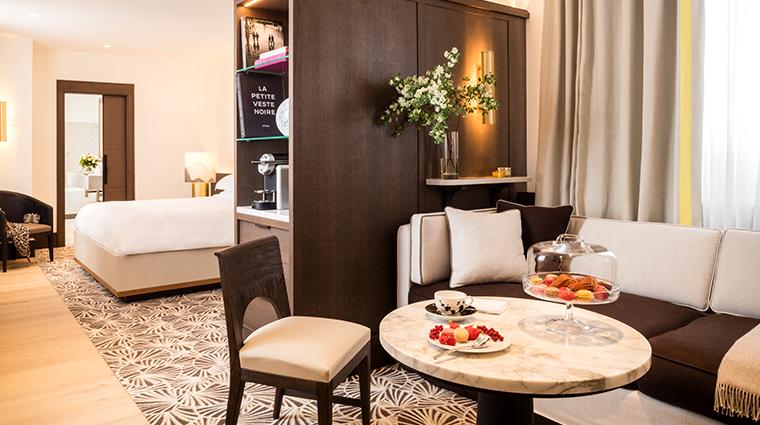 hyatt paris madeleine hyatt suite livingroom
