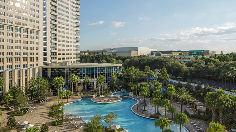 hyatt regency orlando exterior pool