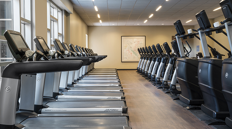 hyatt regency orlando fitness center cardio