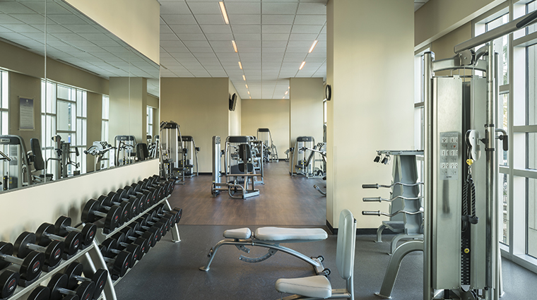 hyatt regency orlando fitness center weight room