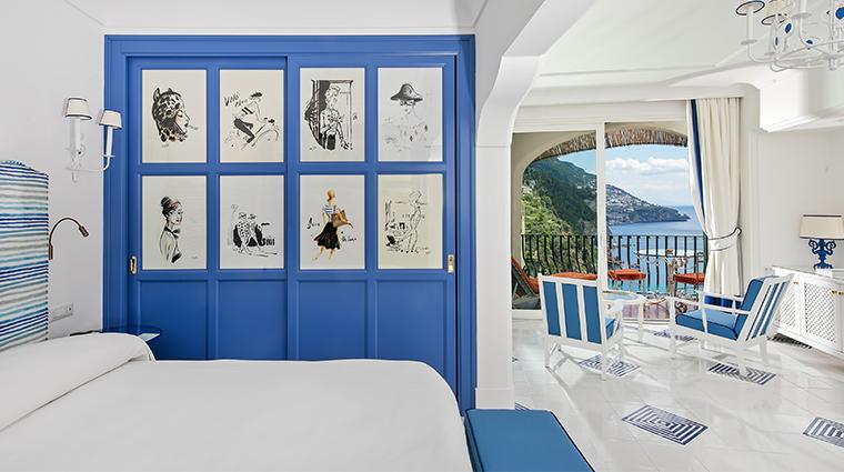 il san pietro di positano guestroom detail
