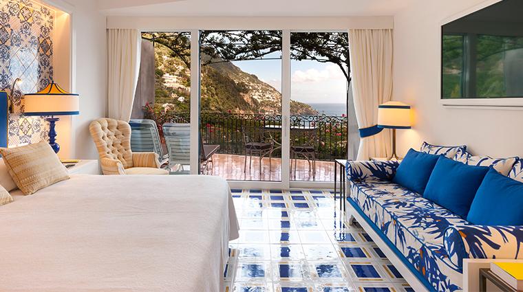 il san pietro di positano guestroom view