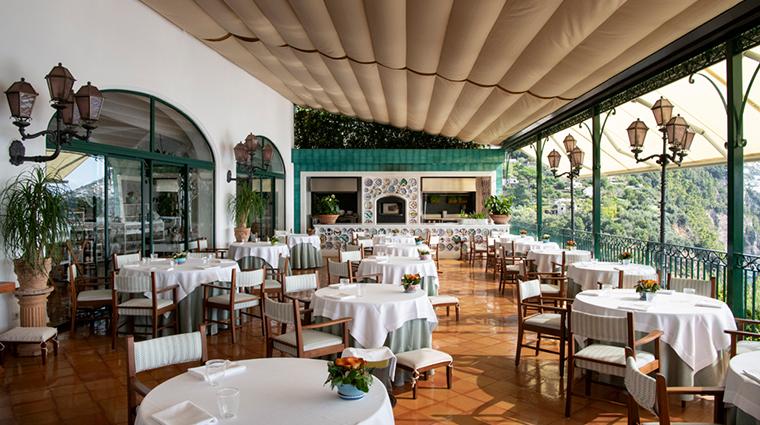 il san pietro di positano restaurant view tables