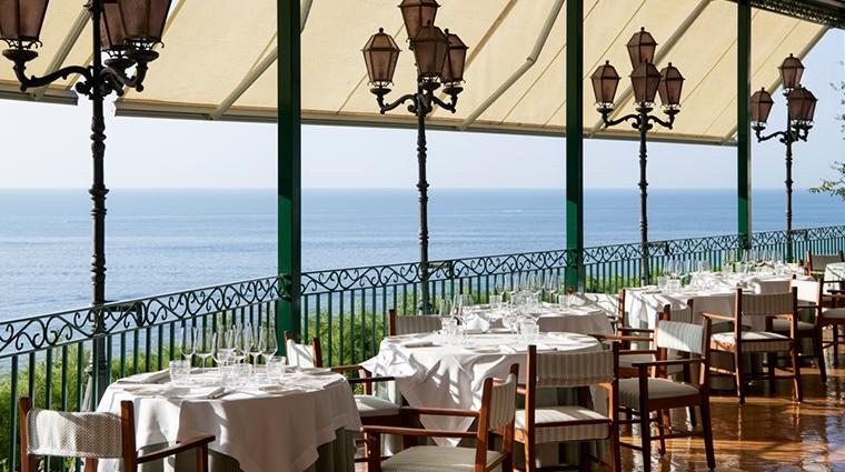 il san pietro di positano restaurant view