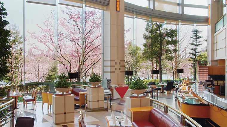 imperial hotel osaka park lobby lounge