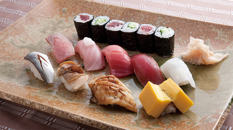 imperial hotel osaka sushi