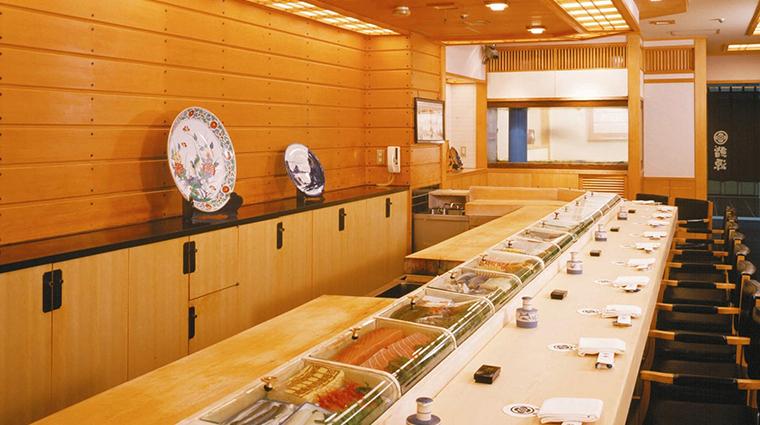 imperial hotel tokyo sushigen restaurant