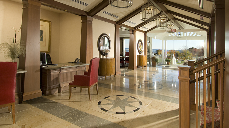 inn by the sea Main Lobby