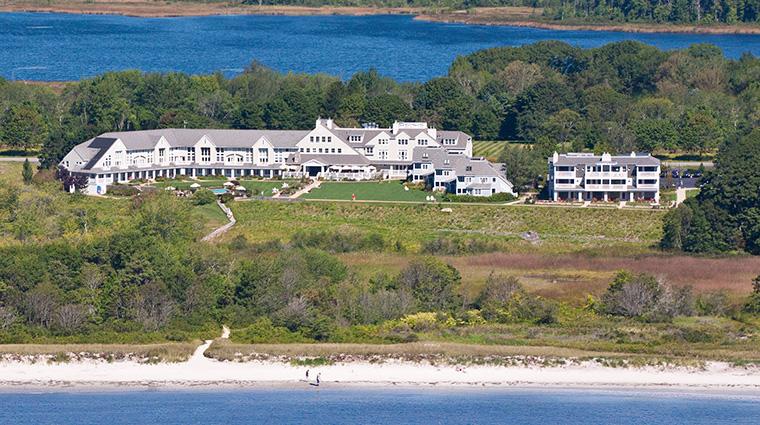 inn by the sea aerial