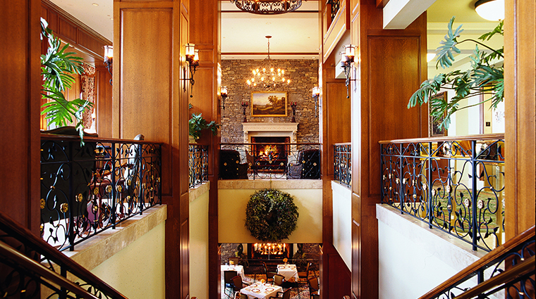 the inn on biltmore estate dining room lobby