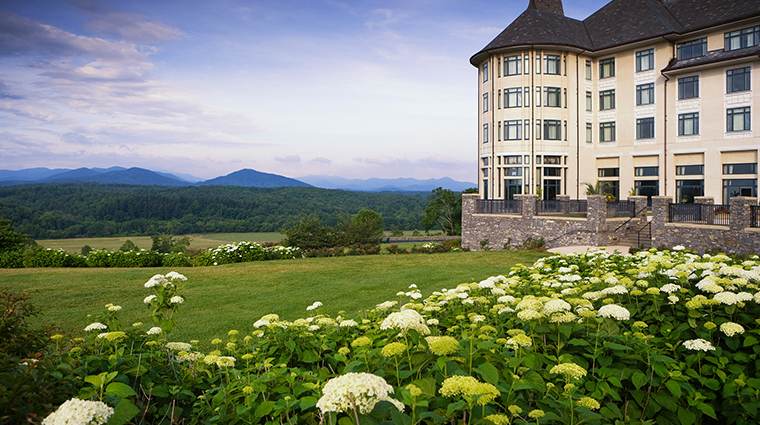 the inn on biltmore estate exterior