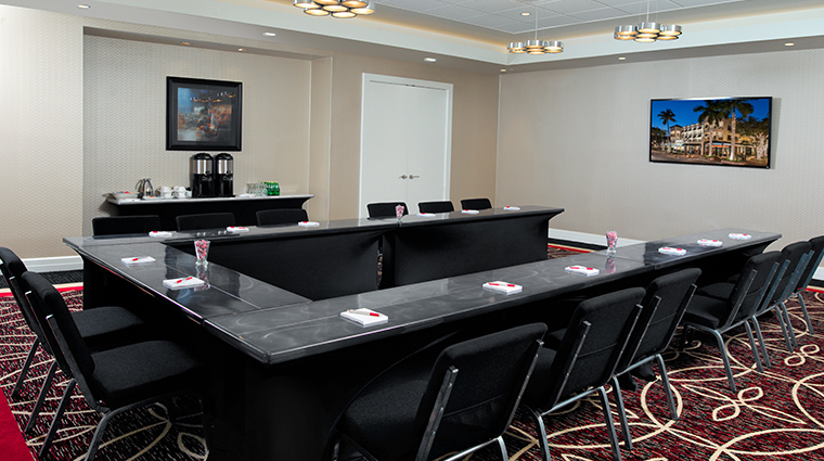 inn on fifth and club level suites boardroom