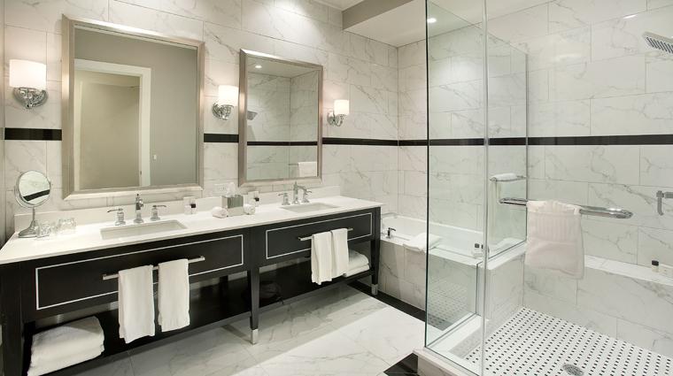 inn on fifth and club level suites club level bathroom