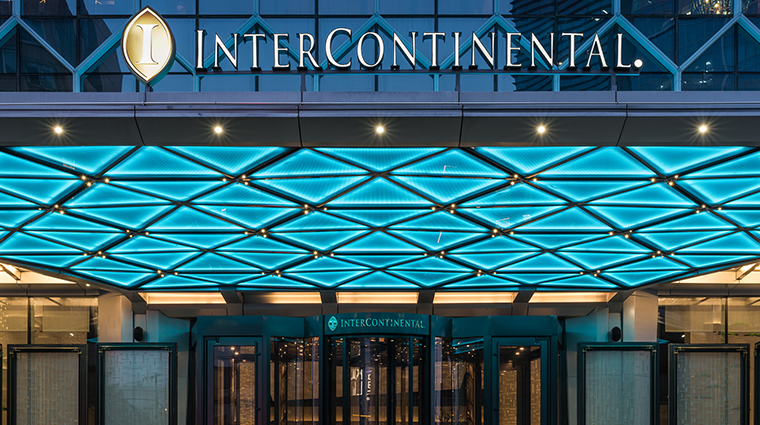 intercontinental beijing sanlitun entrance