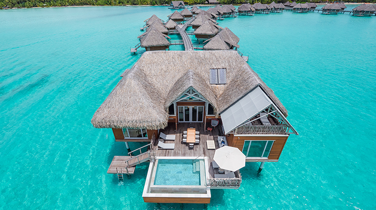 intercontinental bora bora resort thalasso spa Brando suite