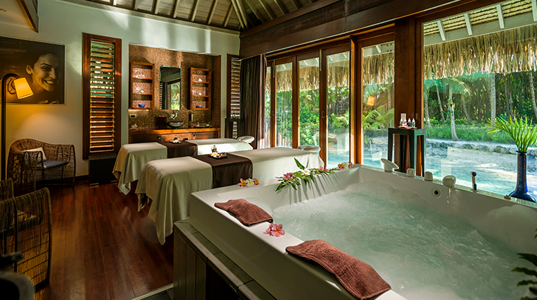 intercontinental bora bora resort thalasso spa Deep Ocean Spa double cabin