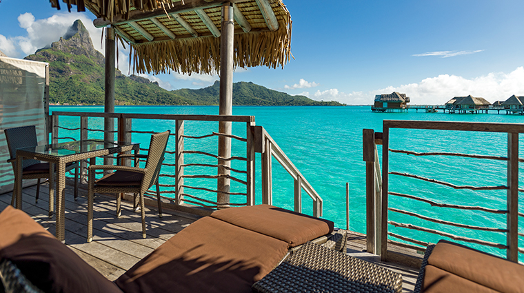 intercontinental bora bora resort thalasso spa Diamond Otemanu overwater villa