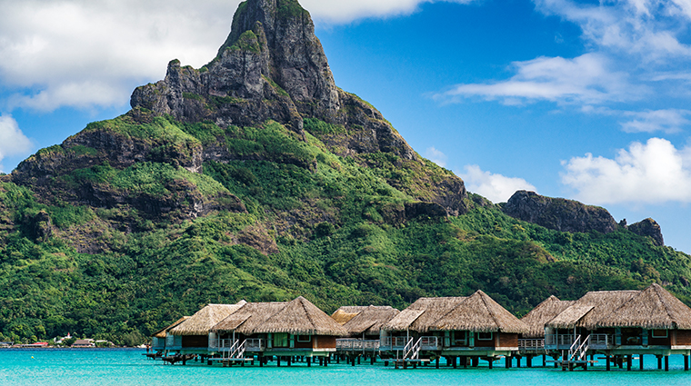 intercontinental bora bora resort thalasso spa Mount Otemanu