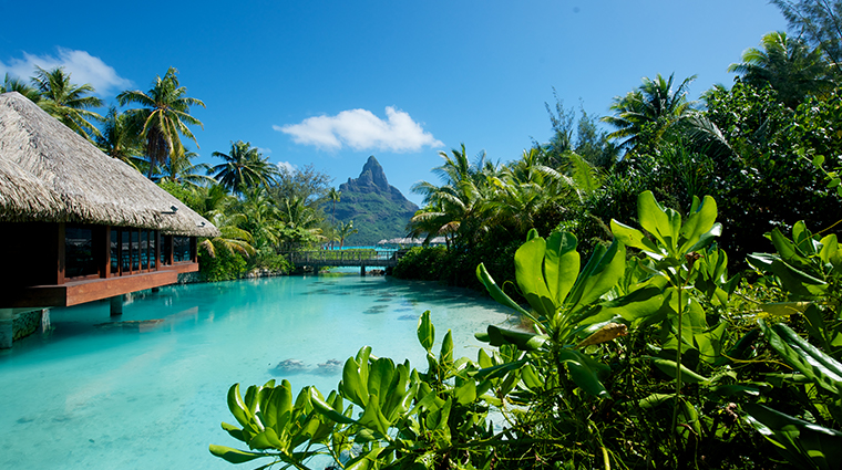 intercontinental bora bora resort thalasso spa mount Otemanu view