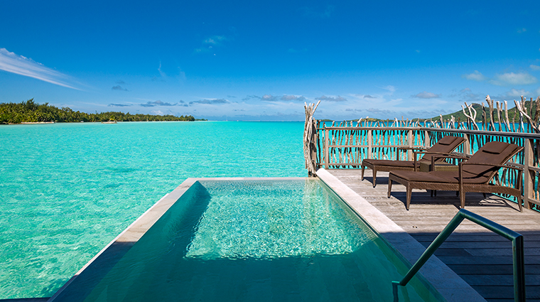intercontinental bora bora resort thalasso spa villa pool