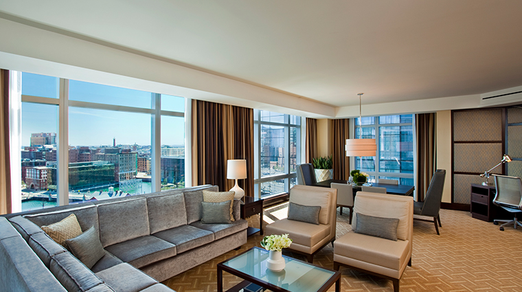intercontinental boston ambassador suite